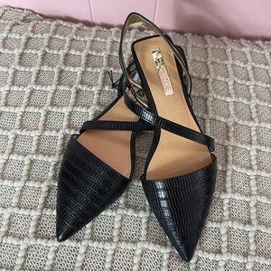 Rachel Zoe black flats loafers size 6,6.5,7,8 NWT